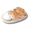 By Barb Handcrafted Latkes - Potato Pancakes with Sour Cream