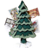 Christmas Card Tree Holder with Christmas Cards
