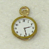 Tiny Brass Pocketwatch