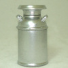 Rustic Silver Milk Can