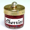 Handcrafted Glass Jar of Cherries