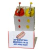 Handcrafted Diner Mustard and Ketchup Dispenser
