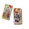Handcrafted Tiny Porcelain Doll in Dress in Gift Box