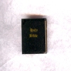 Small Gilded Leather Bible