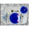 Cobalt Blue Complete Place Setting