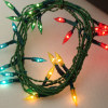 Tiny Working Flame Tip Multicolor Christmas Lights