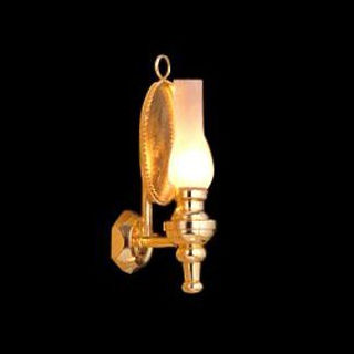 Working Oil Lamp Wall Sconce