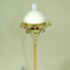 Working Ornate Vintage Floor Lamp