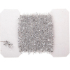 Silver Christmas Tinsel Garland