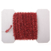 Red Christmas Tinsel Garland