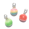 Striped Christmas Ornaments
