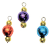Metallic Triple Ball Christmas Ornaments