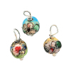 Christmas Ball Ornaments Enamel Cloisonne Style