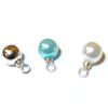 Christmas Ball Ornaments Turquoise Blush Silver Pearl