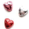 Set of Foil Covered Hearts