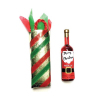 Christmas Merlot Wine Bottle and Gift Bag