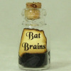 Bat Brains Halloween Witches Brew Magic Potion Bottle