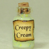 Creepy Cream Halloween Witches Brew Magic Potion Bottle