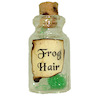 Frog Hair Halloween Witches Brew Magic Potion Bottle
