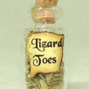 Lizard Toes Halloween Witches Brew Potion Bottle