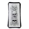 Halloween Skull Plaque Sign See No Evil
