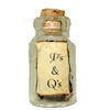 P's and Q's Halloween Witches Brew Magic Potion Bottle
