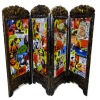 Handcrafted Halloween Room Divider Screen