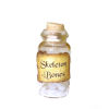 Skeleton Bones Halloween Witches Brew Magic Potion Bottle