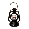 Handcrafted Spooky Halloween Red Rhinestone Eye Skull Lantern