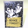 Handcrafted Spooky Halloween Ghosts Seance Tonight Sign