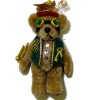 Handcrafted Steampunk Teddy Bear with Goggles and Vest