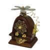 Handcrafted Antique Style Steampunk Table Radio