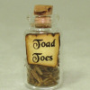 Toad Toes Halloween Witches Brew Potion Bottle