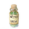 Witch Brew Halloween Magic Potion Bottle