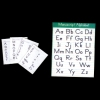 Classroom Alphabet Wall Chart and Worksheets