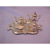 Silver Metal Tea Set