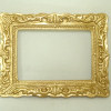 Ornate Gilded Gold Picture Frame