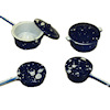 Spatterware Cooking Pot Set