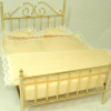 Complete Double Brass Bed Set