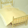 Complete Single Brass Bed Set