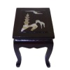 Asian Style Inlaid End Table
