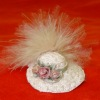 Ladies Hat With Feathers