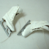 Dolls Cobbler Hand Crafted Lady's Real Leather White Ice Skates