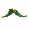 Dolls Cobbler Christmas Elf Boots or Shoes- Green & Gold
