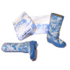 Doll Cobbler Blue Garden or Rain Boots