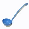 Dieter Dorsch Handcrafted Large Blue Metal Ladle