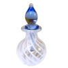 Dieter Dorsch Blown Glass Swirl Decanter or Potion Bottle