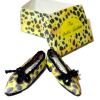 The Dolls Cobbler Handcrafted Exotic Leopard Print Flats