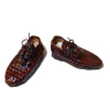 Dolls Cobbler Hand Crafted Alligator Mens Oxford Shoes