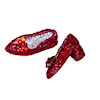 The Dolls Cobbler Handcrafted Ruby Slippers